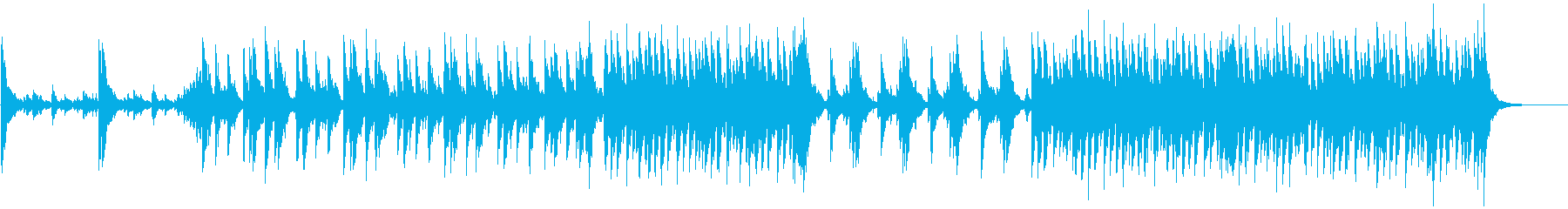 和太鼓アンサンブル&かけ声、力強いAの再生済みの波形