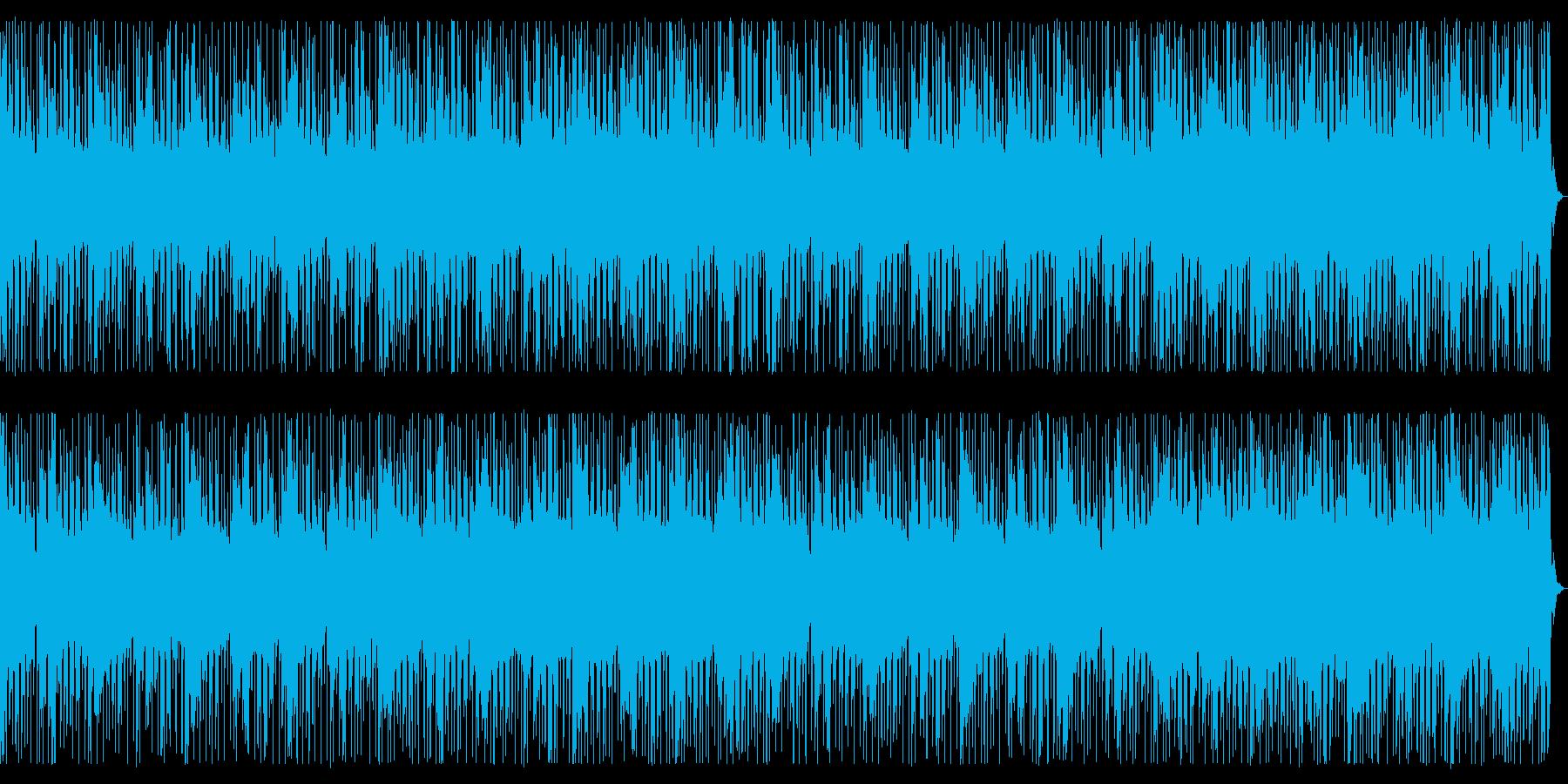 クールなディープハウス_No674_1の再生済みの波形