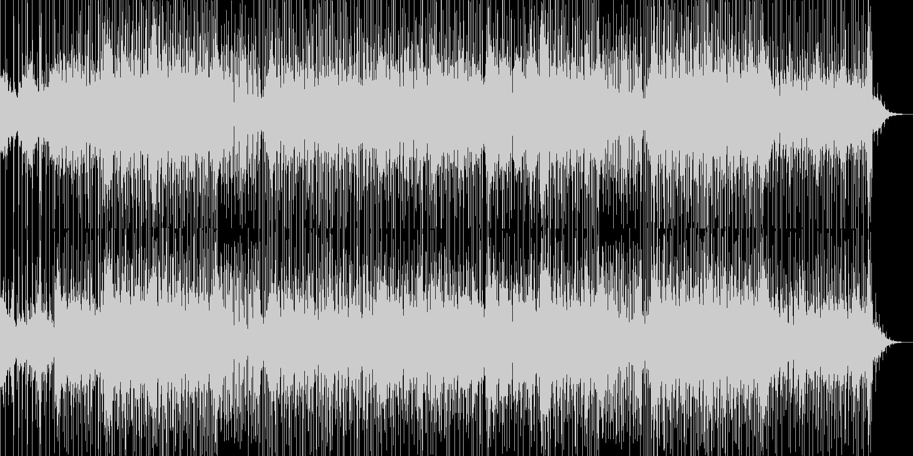 耳に残るピチカートのメロディが印象的な曲の未再生の波形