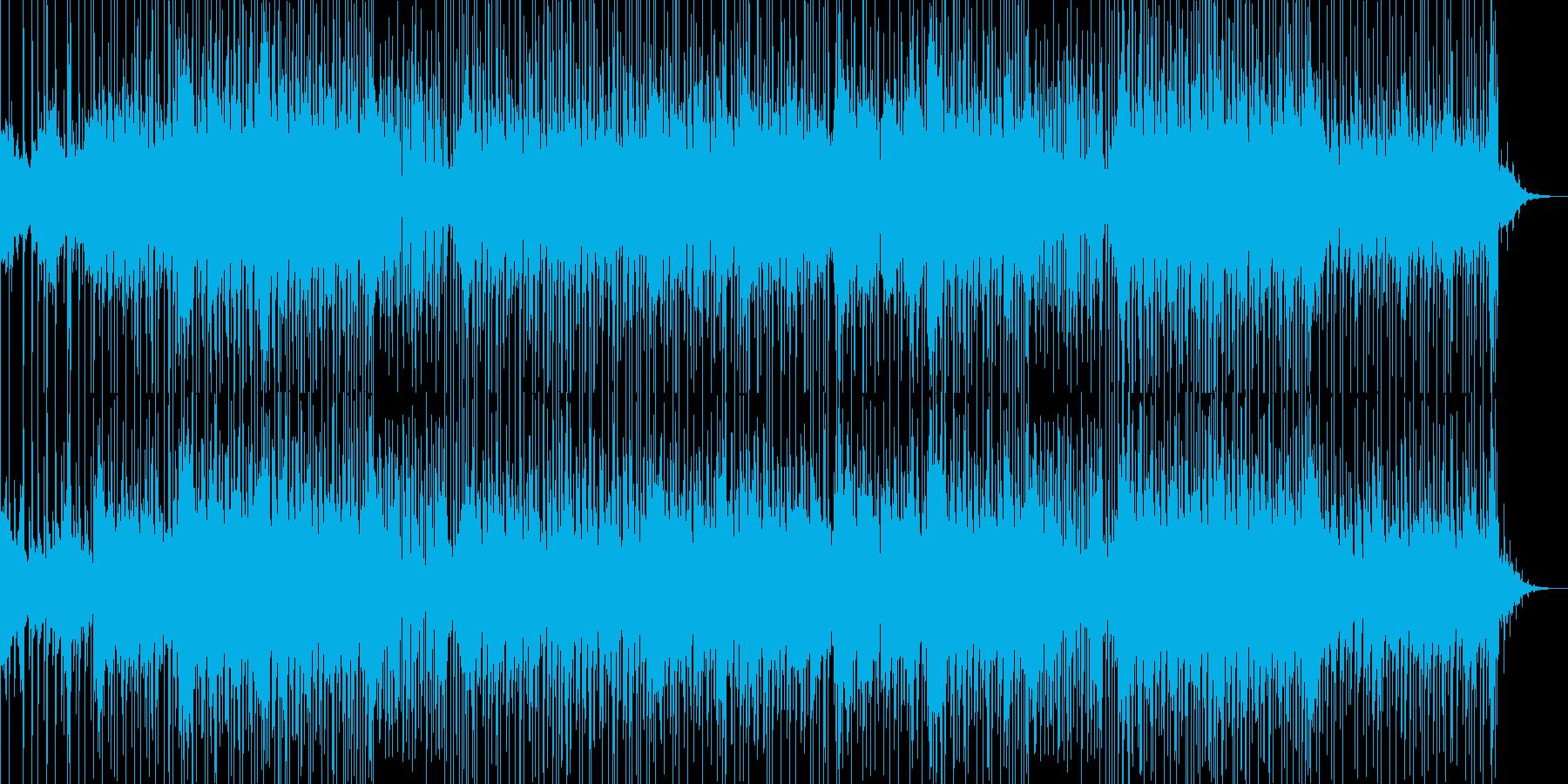 耳に残るピチカートのメロディが印象的な曲の再生済みの波形