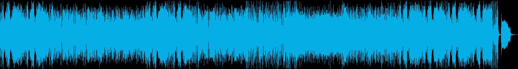 かわいくメルヘンで爽やかなエンドロールの再生済みの波形