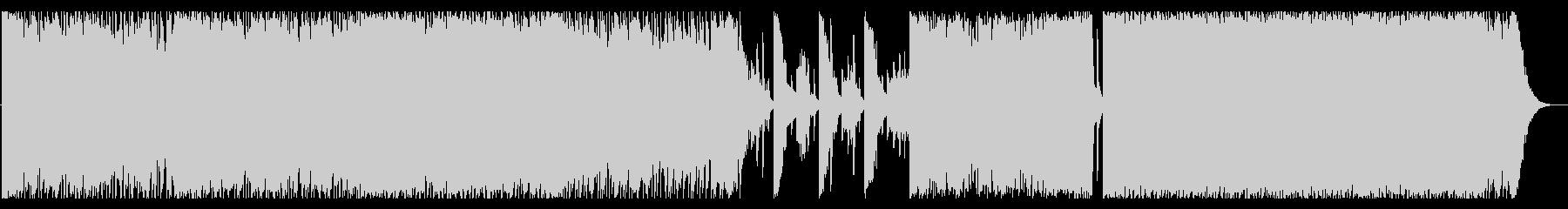 壮大なシネマティックロックの未再生の波形