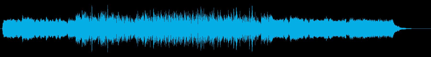 プログレ風変拍子の曲ですの再生済みの波形