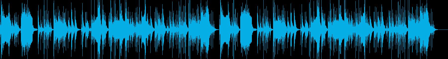 和風 お琴の調べと篠笛と鼓のBGMの再生済みの波形