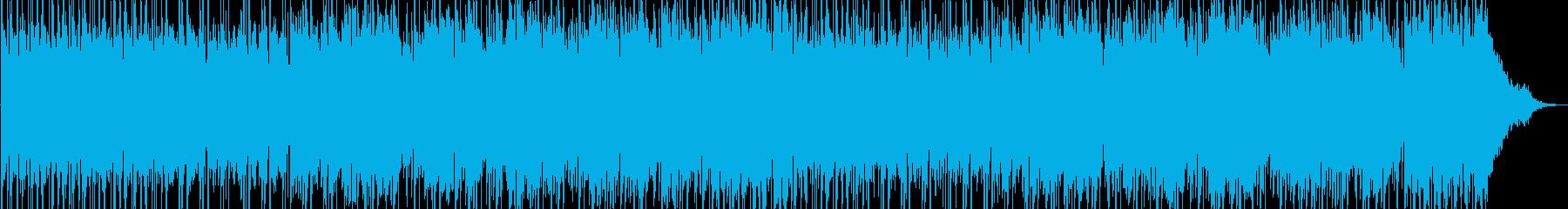 宇多田ヒカル風都会的なポップスオリジナルの再生済みの波形