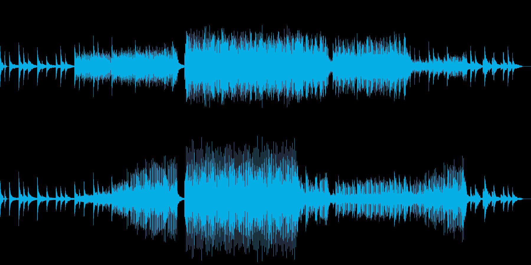 動画 サスペンス 説明的 静か ク...の再生済みの波形
