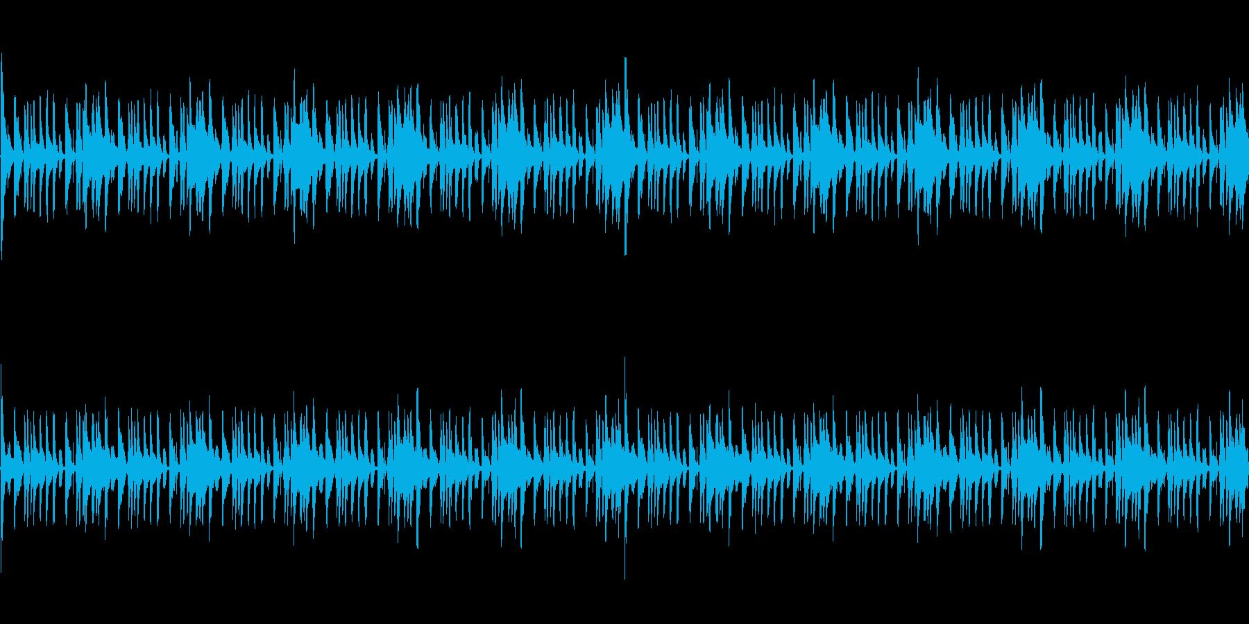 ゲームのBGMに最適です。の再生済みの波形