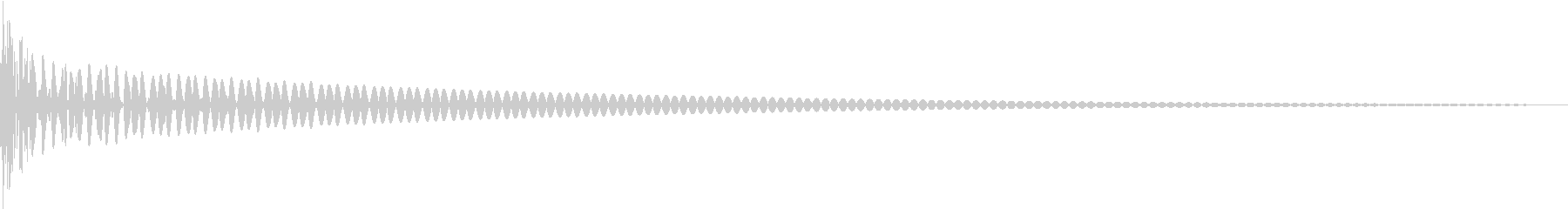 DTM Tom 16 オリジナル音源の未再生の波形