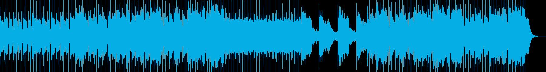 和太鼓と笛 神楽な雰囲気のBGMの再生済みの波形