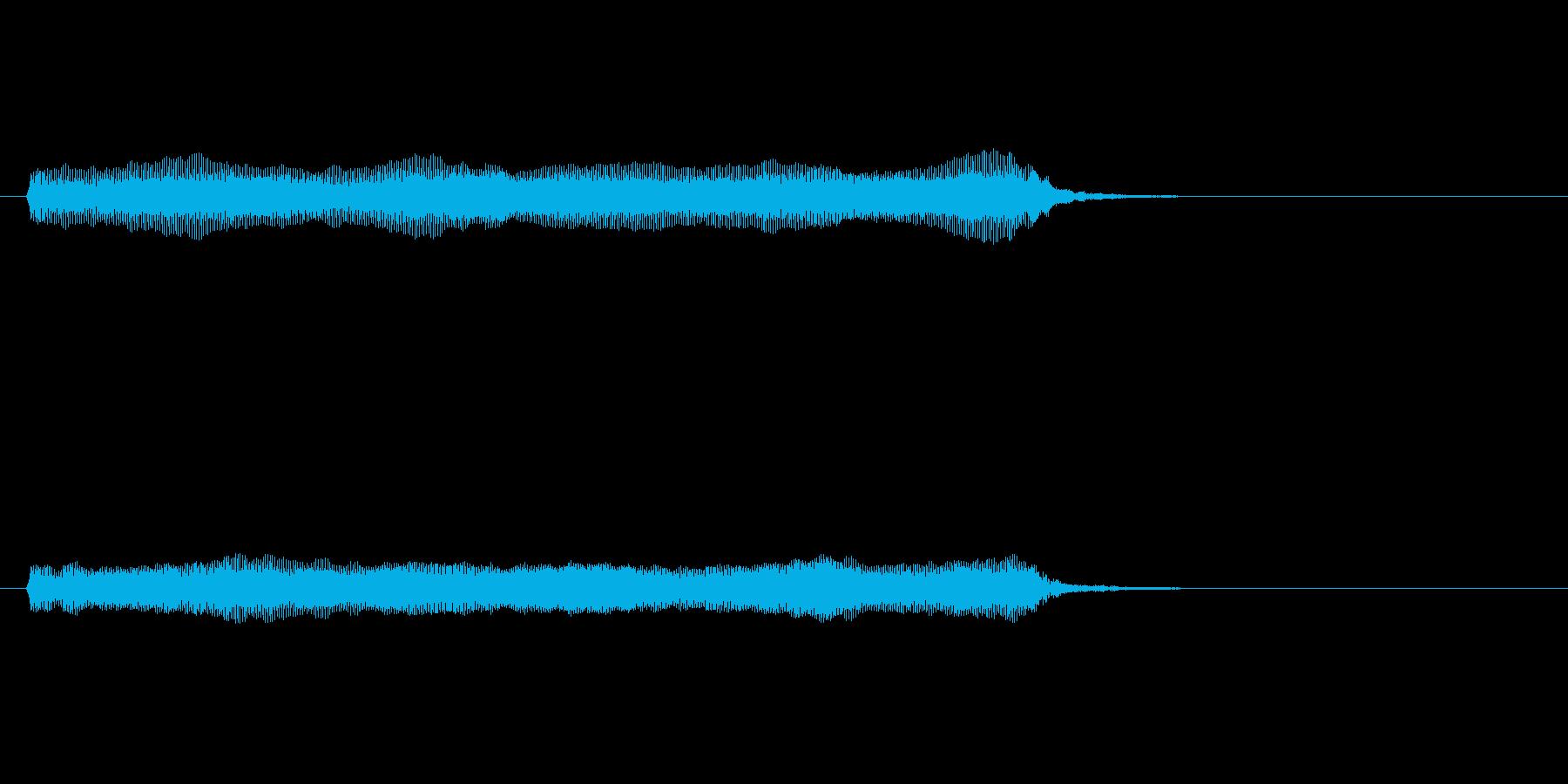 【開演ブザー01-2】の再生済みの波形