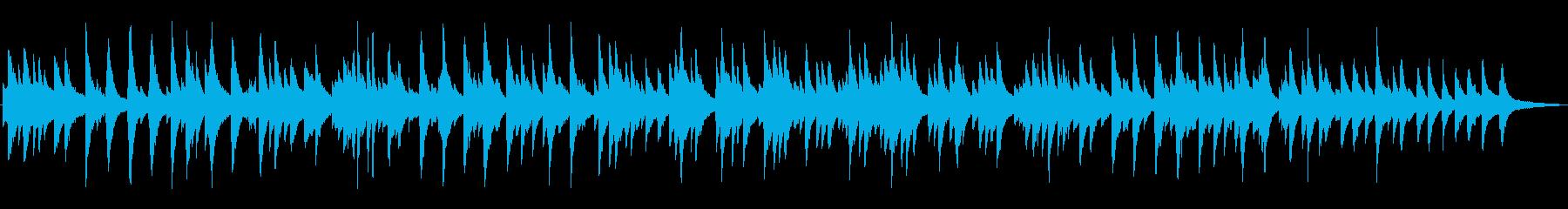シックなジャズ風ラウンジピアノソロの再生済みの波形