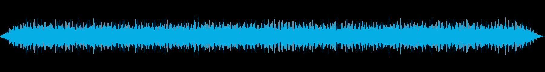 トラックのアイドリングの再生済みの波形