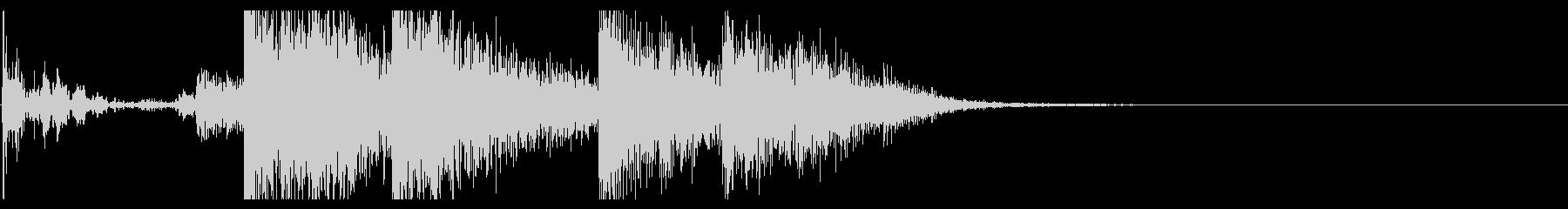 【生録音】ブリキのバケツの音 学校 1の未再生の波形