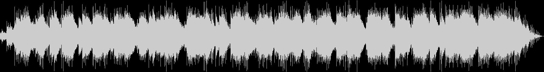 ガムランが響くヒーリングアンビエントの未再生の波形