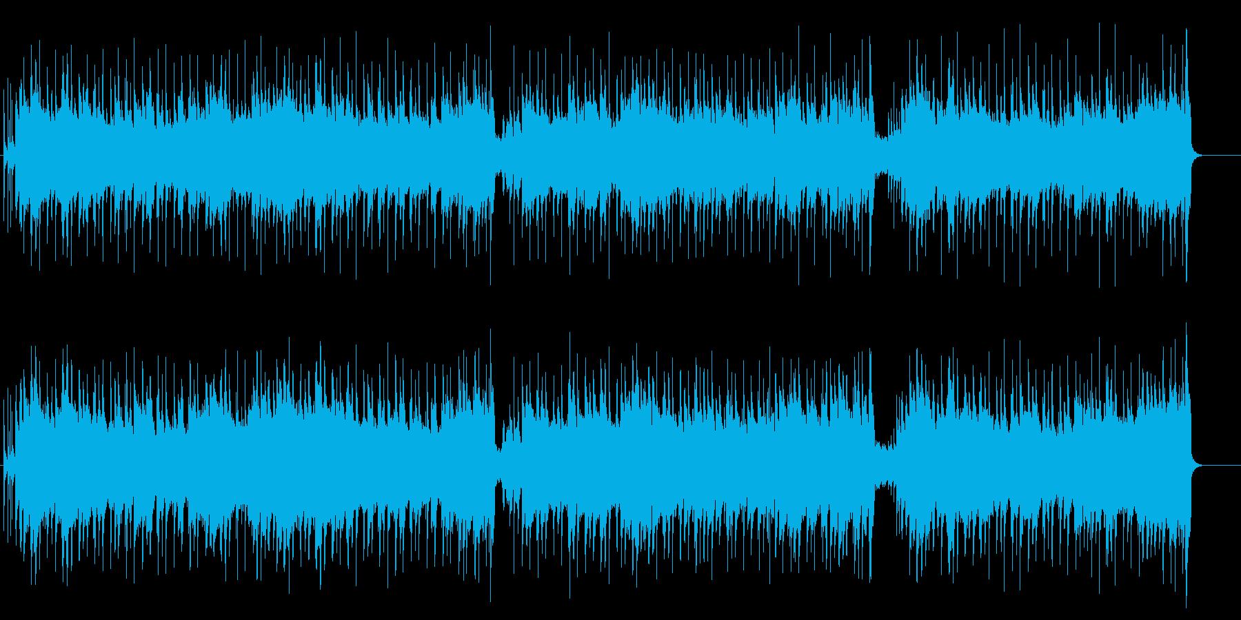 日常感覚にマッチングする温かいポップスの再生済みの波形