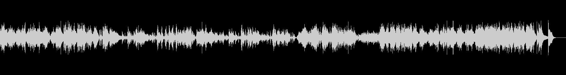 ピアノソロベルガマスク組曲プレリュードの未再生の波形