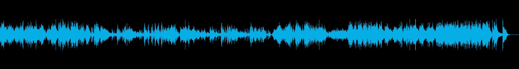 ピアノソロベルガマスク組曲プレリュードの再生済みの波形