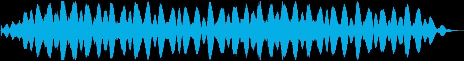 PADS 単調な旋風01の再生済みの波形