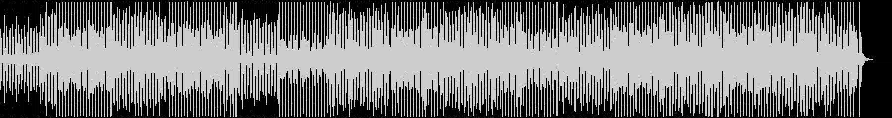 CM、チープ感がオシャレ可愛いロックの未再生の波形