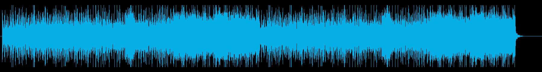 ポップで楽天的なバンドサウンドの再生済みの波形