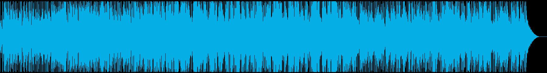 生音・生演奏サックスの軽快スムースジャズの再生済みの波形
