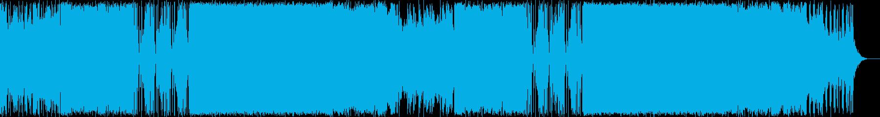 ボス戦、D&B弦楽器生演奏の再生済みの波形