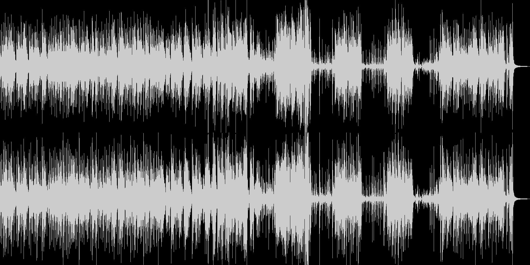 明るく快適なアコースティックジャズ...の未再生の波形