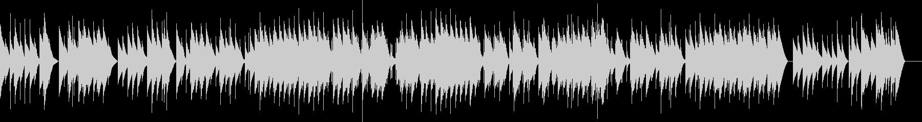 フォーレ 4.メリザンドの死 オルゴールの未再生の波形