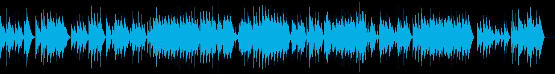 フォーレ 4.メリザンドの死 オルゴールの再生済みの波形