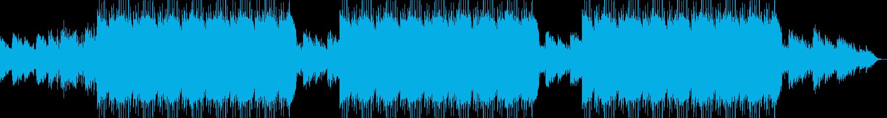 不気味で幻想的なヒップホップBGMの再生済みの波形