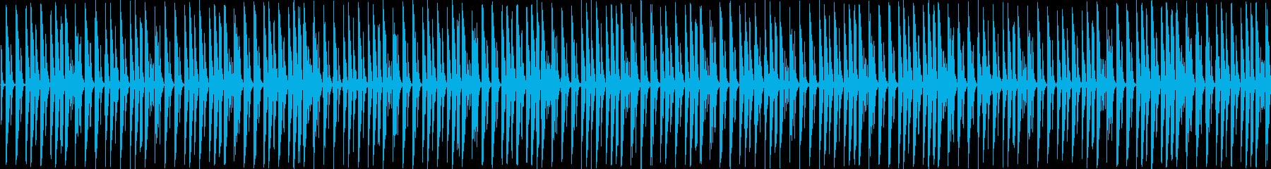 【サスペンスものなどに不穏なBGM】の再生済みの波形