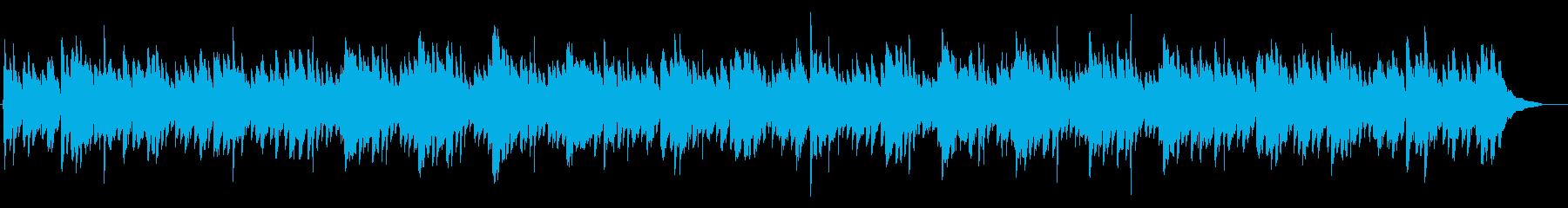 アコギアルペジオのバラード感動 結婚式の再生済みの波形