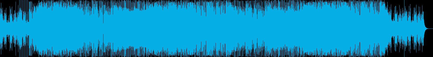 爽やかさのある津軽三味線EDMの再生済みの波形