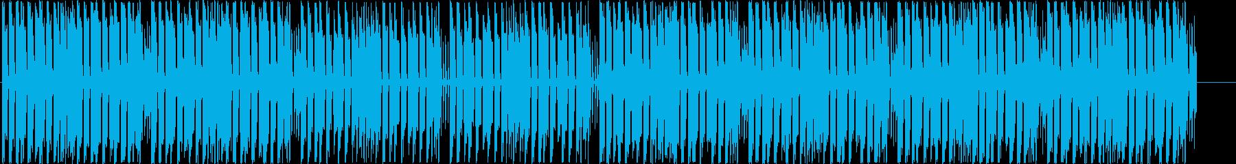 明るく勢いのあるダンスホールレゲエの再生済みの波形