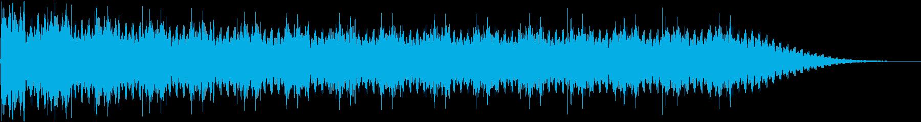 2トーンサイレンスペースアラーム迅...の再生済みの波形