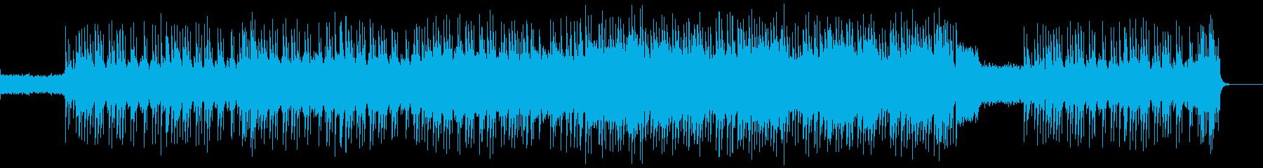 戦闘に合うオルタナグランジロックの再生済みの波形