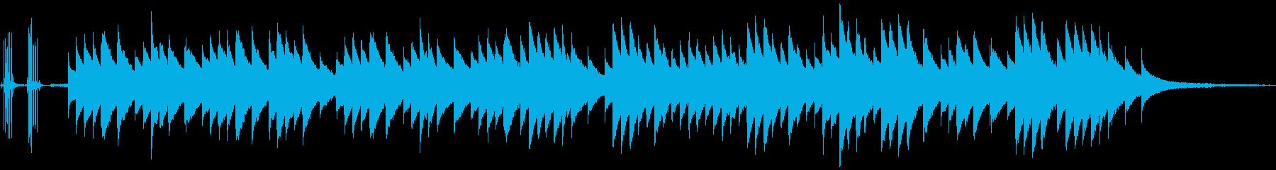 ハロウィンをイメージしたオルゴールの再生済みの波形