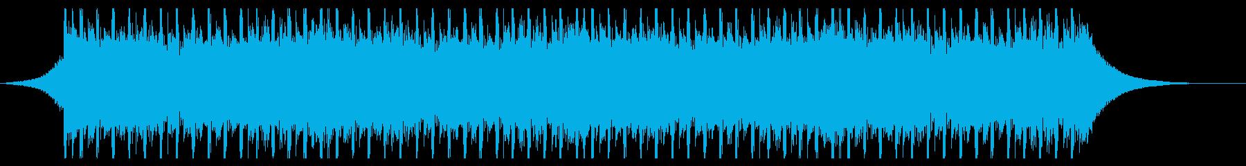 建設ビル(40秒)の再生済みの波形