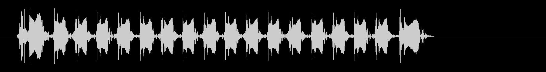 レーザー音-151-3の未再生の波形