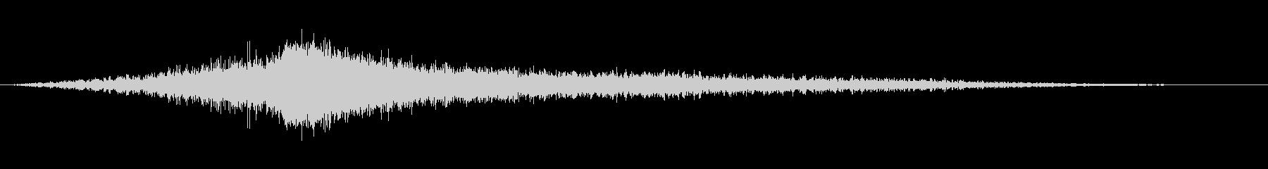 ジャン:迫力ある怖い音(ホラー)2の未再生の波形