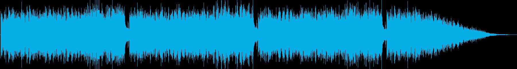 神聖な場面などで流れるピアノ曲の再生済みの波形