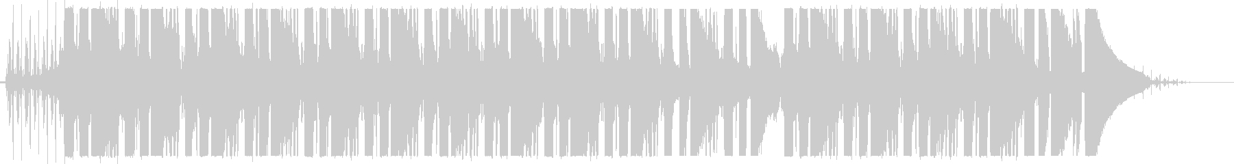 チルギター LoFi  ノイズ入りの未再生の波形