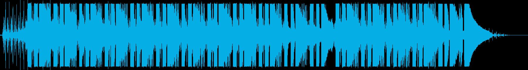 チルギター LoFi  ノイズ入りの再生済みの波形