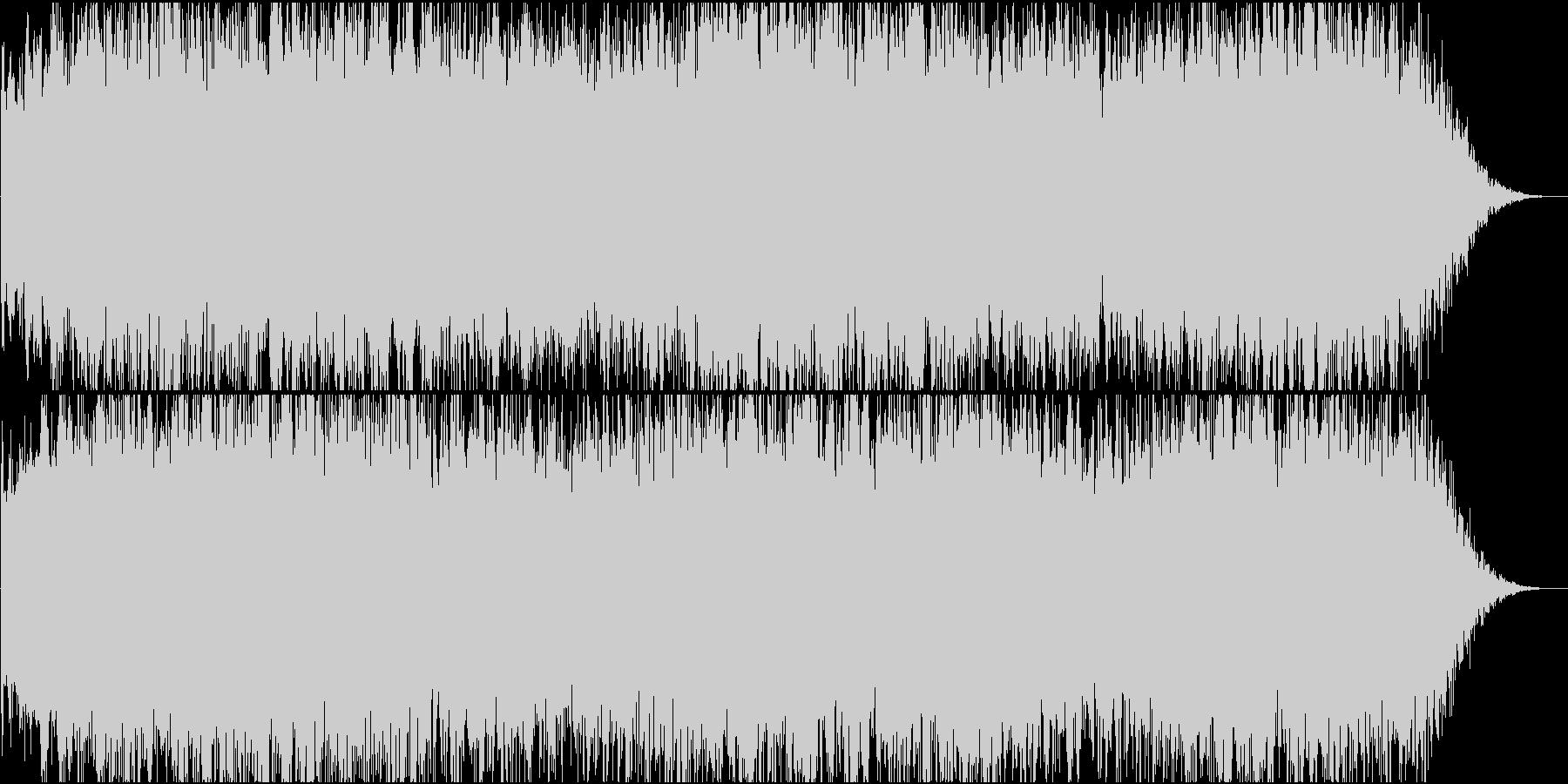 アクション:緊迫のバトルシーン2の未再生の波形
