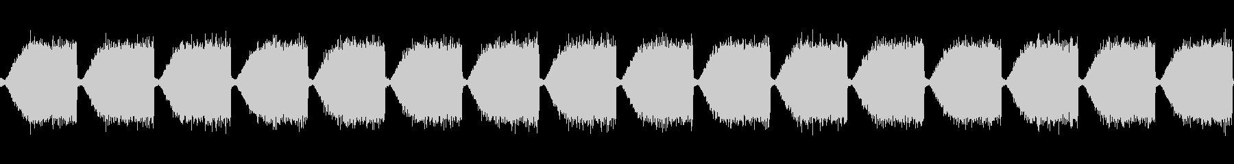 EDMでよくあるホワイトノイズの未再生の波形