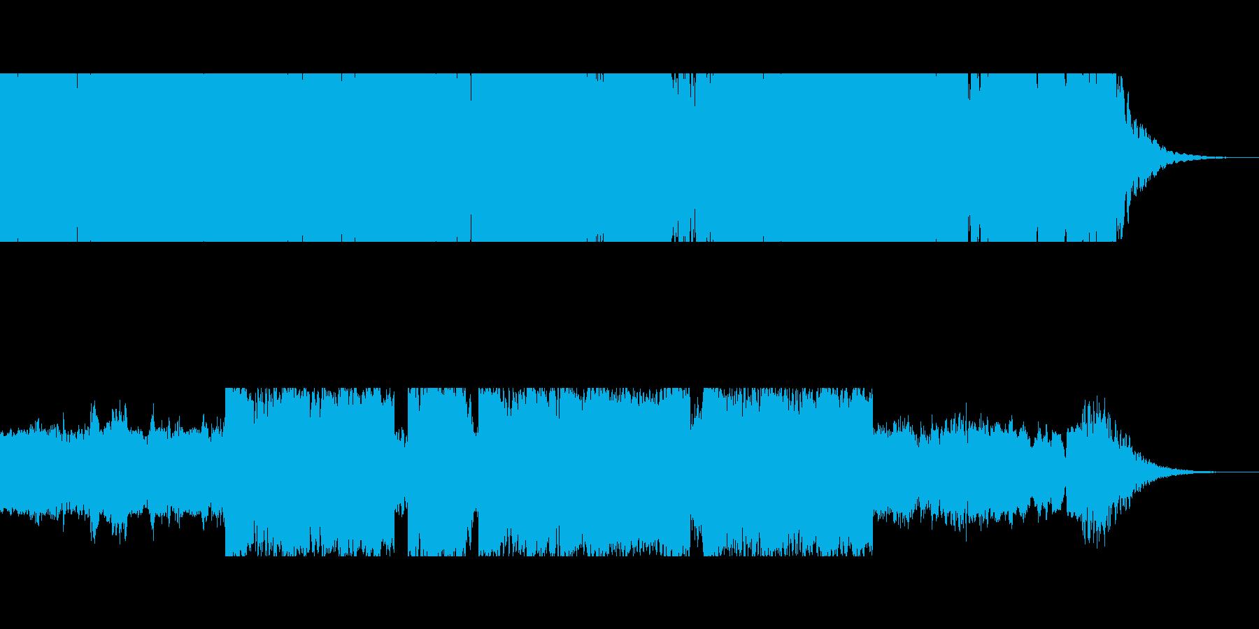 ジングル 懐かしい 村 笛 ロゴ の再生済みの波形
