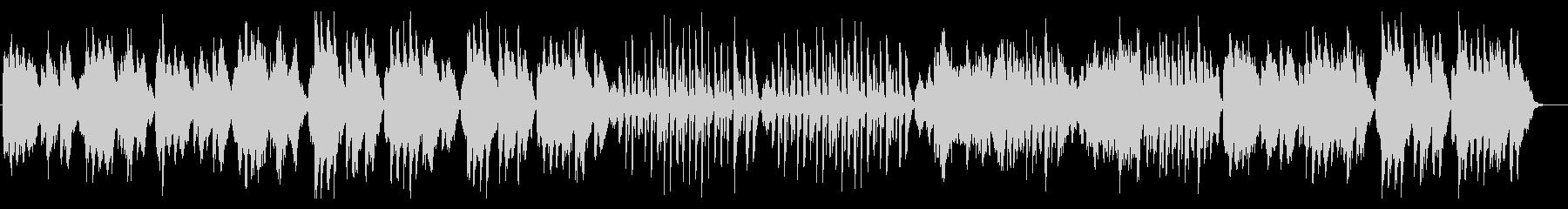 ベートーヴェン/メヌエット/ヴァイオリンの未再生の波形