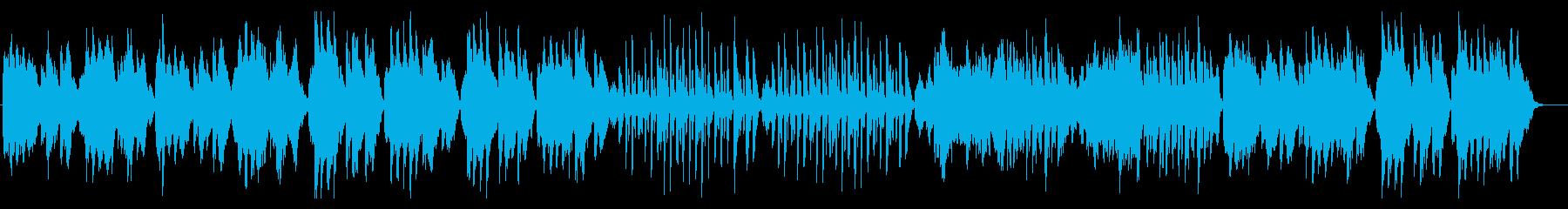 ベートーヴェン/メヌエット/ヴァイオリンの再生済みの波形