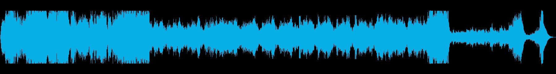 荘厳なオーケストラサウンドの再生済みの波形