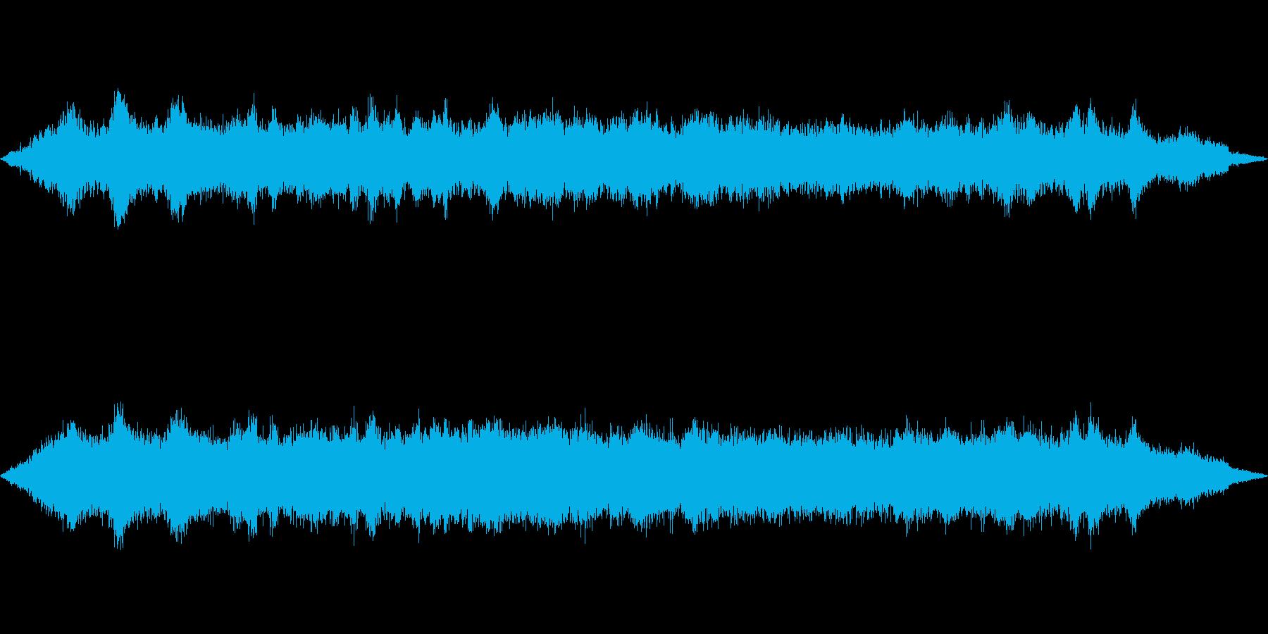 海 波 浜辺 海岸 カモメの環境音 13の再生済みの波形